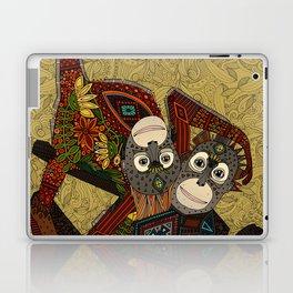 orangutans gold Laptop & iPad Skin