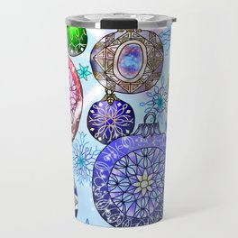 Christmas Artwork #4 (2018, Glow) Travel Mug