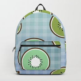 Kiwi summer fruit Backpack