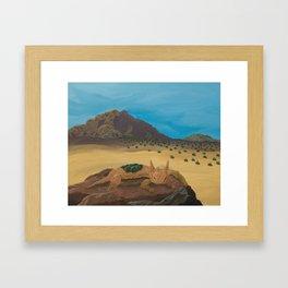 Sunbather Framed Art Print