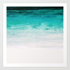 Shades of the Ocean Art Print