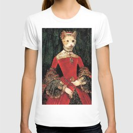 Royalty cat T-shirt