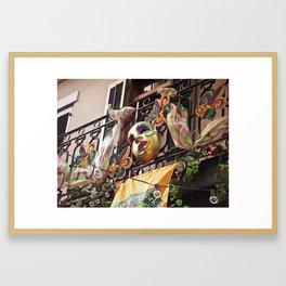 Krewe of Cork Framed Art Print