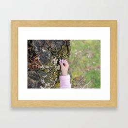 bloom. Framed Art Print