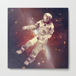 Time & Space Metal Print