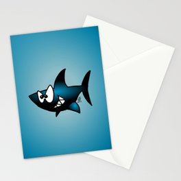 Smiling Shark Stationery Cards