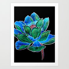 The Inverted Lily Art Print