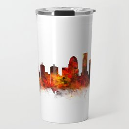 Louisville Kentucky City Skyline Travel Mug