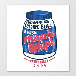 Miracle Whips Canvas Print