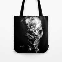 silent Tote Bags featuring Silent by zerobriant