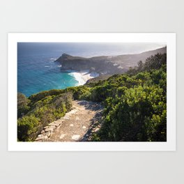 View of Cape Point in Cape Town, South Africa Art Print