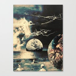 the universe's got me covered Canvas Print