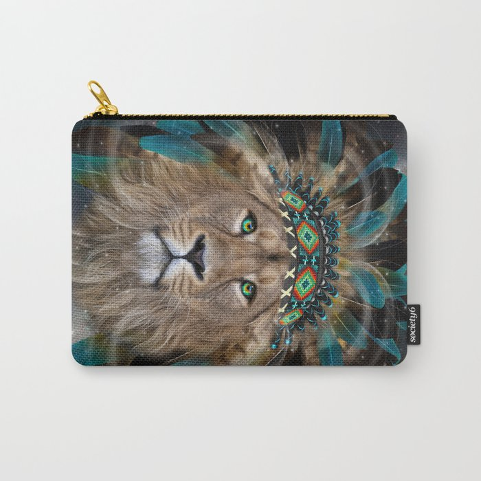 Fight For What You Love (Chief of Dreams: Lion) Tribe Series Carry-All Pouch