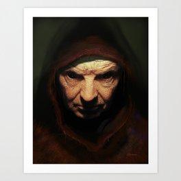 Death Face Art Print