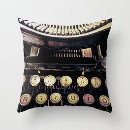 backspace Throw Pillow