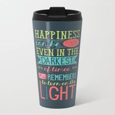 Happiness Metal Travel Mug