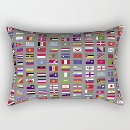 Nations united Rectangular Pillow
