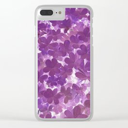 Clover II Clear iPhone Case