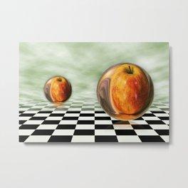 Apple in the sky Metal Print