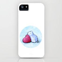 Resting iPhone Case