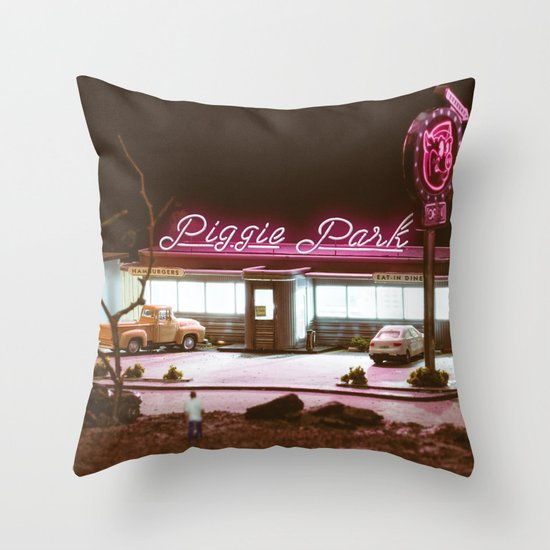 The Album Throw Pillow