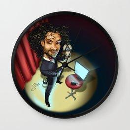 Magician of Oz Wall Clock