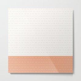 Coit Pattern 57 Metal Print