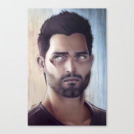 Teen Wolf - Derek Hale V2 Canvas Print