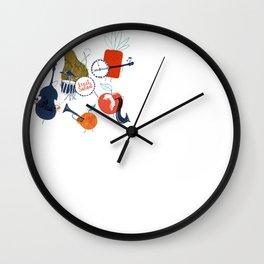 Fruit Jazzband Wall Clock