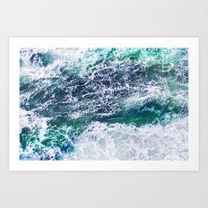 In Waves Art Print