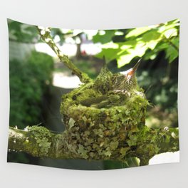 Baby hummers Wall Tapestry