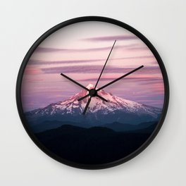 Mount Hood XI Wall Clock