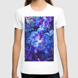 Blue, Pink, & Purple Swirl T-shirt