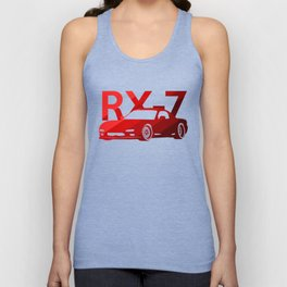 Mazda RX-7 - classic red - Unisex Tank Top