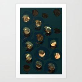 awakened to curiosity Art Print
