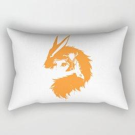 Naruto & Kurama Rectangular Pillow
