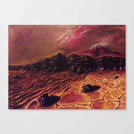 Sands of Mars Canvas Print