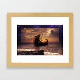 A Ship for All Destinations Framed Art Print