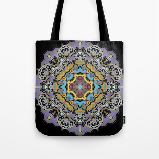 Soothing Mandala Tote Bag