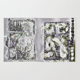 Foiled Excavations Rug