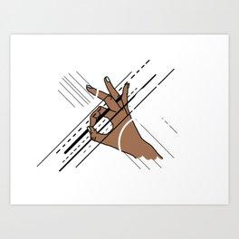 Touch Pt. 4 Art Print