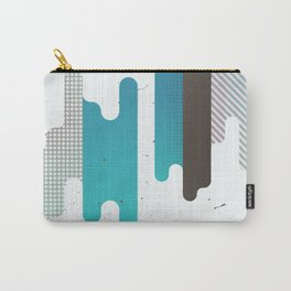 Abstract Texure Carry-All Pouch