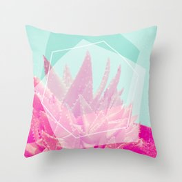 Aloe Veradream Throw Pillow