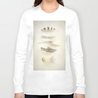 feather Long Sleeve T-shirts featuring Feather by Pure Nature Photos