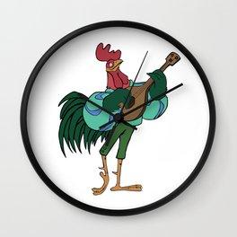 Alan-a-Dale Wall Clock