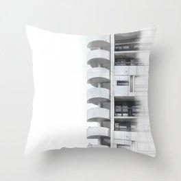 Plattenbau Throw Pillow