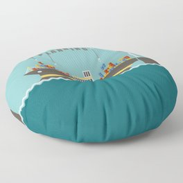 Planner Floor Pillow