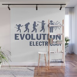 Evolution - Electrician Wall Mural