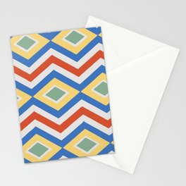 Abstract Stripes Pattern Geometric Decoration Stationery Cards