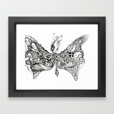 BUGGERFLY Framed Art Print